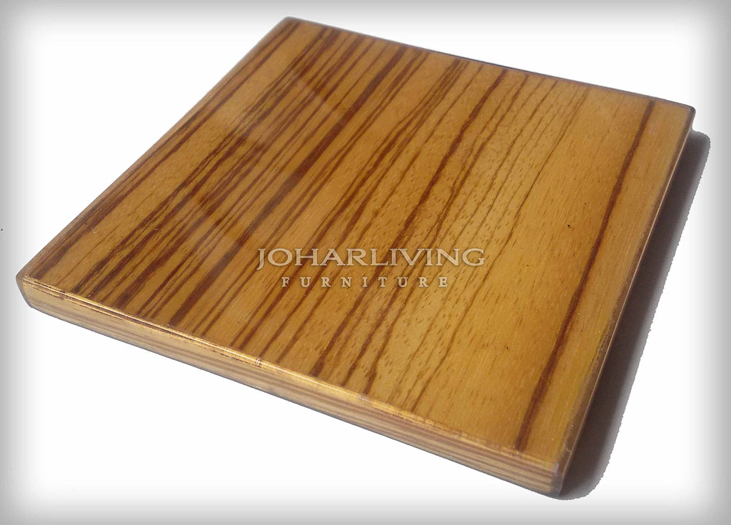 Zebrawood Veneer - Furniture Finishing